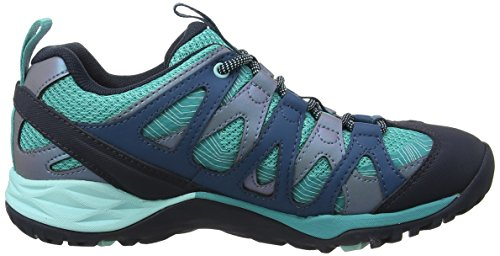 Merrell Women's Siren Hex GTX Low Rise Hiking Boots Blue (Baltic) QEvSDKLe
