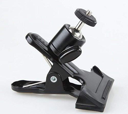 EXOH multifonctionnel Cam/éra Vigoureusement Clip avec rotule Noir