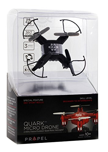 Propel Quark 4 Channel 2.4Ghz Micro Drone Quadcopter