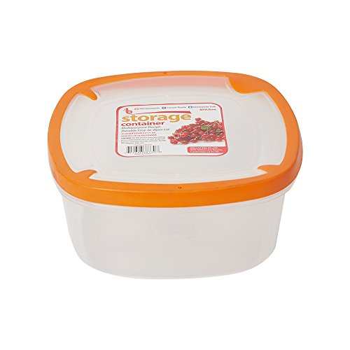 Lucky Tree Easy Pack Food Storage Bowl Plastic Container BPA Free Microwave Oven Freezer Safe