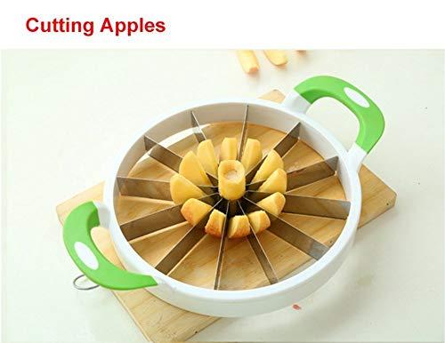Watermelon Slicer Large Stainless Steel Fruit Cutter Kitchen Utensils Gadgets Large Melon Slicer by NEX (Image #4)
