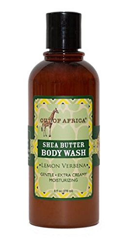Out of Africa Lemon Verbena Body Wash, 9-Ounce Bottles (Pack of 2)