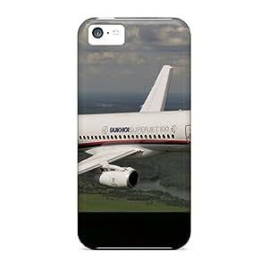 Mycase88 Iphone 5c Hybrid Cases Covers Bumper Sukhoi Superjet-100