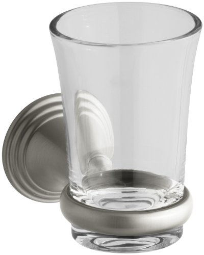 KOHLER K-10561-BN Devonshire Tumbler and Holder, Vibrant Bru