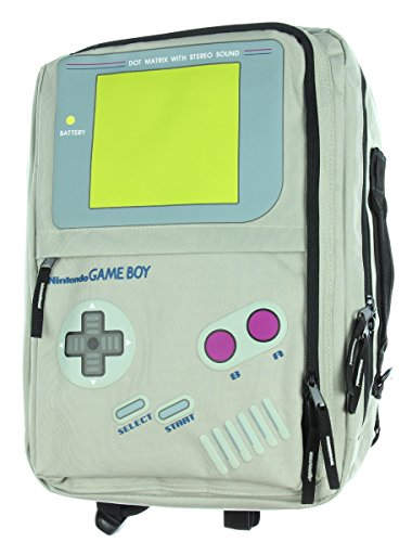 Nintendo Game Boy Convertible Backpack Computer Laptop Messenger Bag Tote by Bioworld