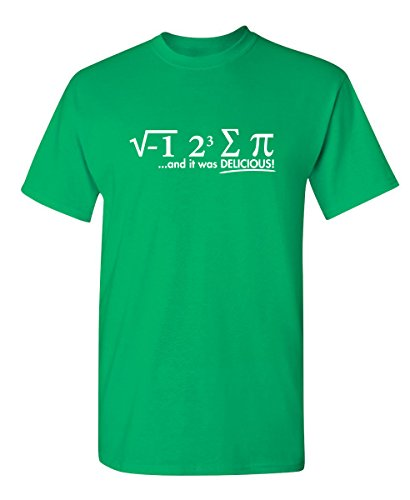 I Ate Some Pie and It was Delicious Graphic Cool Novelty Funny Youth Kids T Shirt YM Irish (Green Irish Love Boys)