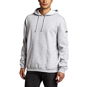 Asics Men's Fleece Hoodie, Heather Grey, Medium