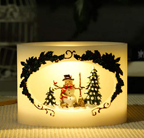 Led Light Snowman Craft in US - 6