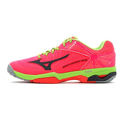 Mizuno Wave Exceed Tour 2 All Court Women's Zapatilla De Tenis - SS17 Diva Pink / Periscope