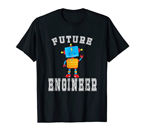 Future Engineer Costume Robot Robotics T-Shirt Adults &