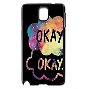 Popluar the Fault in Our Stars.okay. Hard Plastic phone Case Cover For Samsung Galaxy NOTE3 Case Cover FANS252690