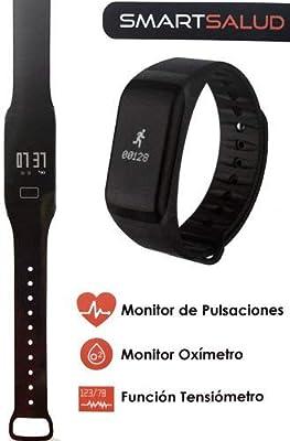ICARUS - Pulsera Deportiva Inteligente con Bluetooth, Impermeable ...