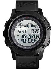 Sports Watch for Men Stopwatch Large Dial LED Backlight Waterproof Digital Watch