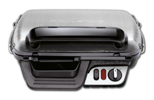 Rowenta GR3060 Ultra Compact Comfort - Bistecchiera con 3 Posizioni di Cottura, Facile da Pulire, Potenza 2000 W, Nero… 1
