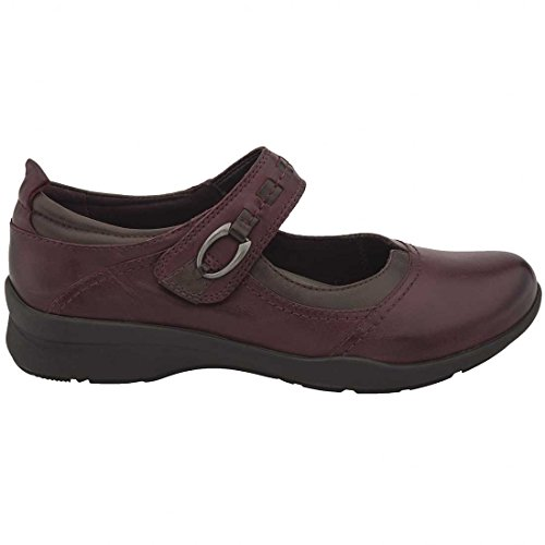 Rosso Custom Almond Mules Brand Womens Strap Garnet Leather Toe Use Ankle 7wvZHw