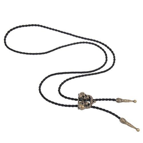 Cowboy Alloy Hop Neck Head Bolo Mens Retro Gifts antique Sharplace copper Tie Skull Hip Western Zinc wqXUU0