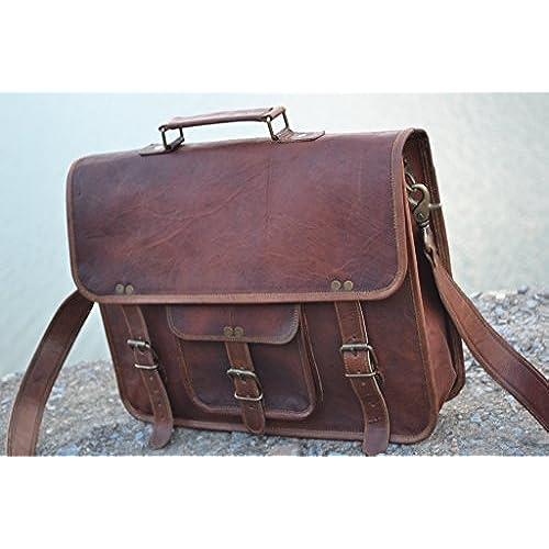 b7feaf662c61 durable modeling Komal's Passion Leather Vintage 15 Inch Laptop ...