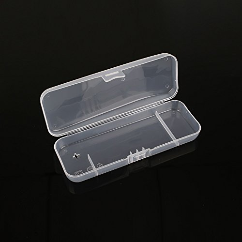 Hanbaili Manual Razor System Plastic razor storage box Travel Holder Box Manual Shaver Organizer Storage