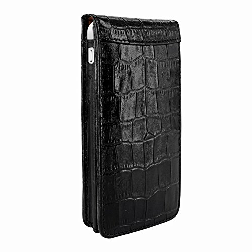 Piel Frama 595 Black Crocodile Magnetic Leather Case for Apple iPhone 5 / 5S / SE