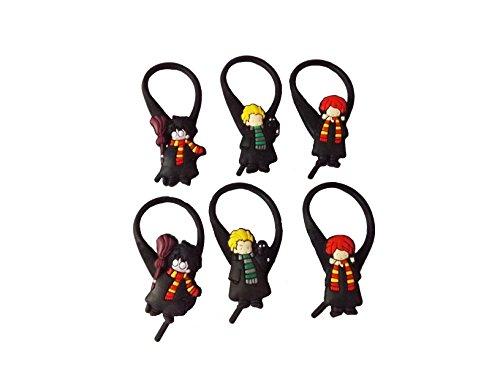 [AVIRGO 6 pcs Soft Zipper Pull Charms for Jacket Backpack Bag Pendant Set # 354 - 3] (Dobby Harry Potter Costumes)