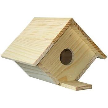 Amazon.com: Pinepro Unfinished Wood Kit, Bird House: Arts, Crafts ...