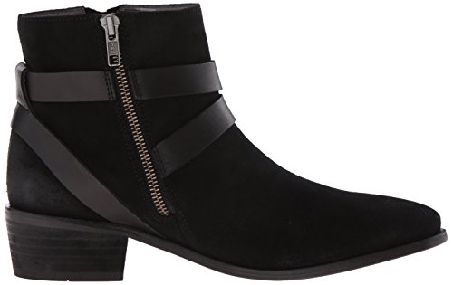 Hudson Women's Meeya Suede Ankle Boots, Grey Black (Black)