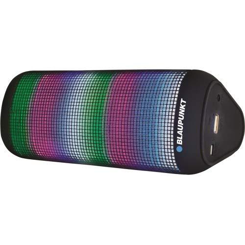 Blaupunkt Wedge BP1251 Speaker System - 6 W RMS - Wireless Speaker(s) - Portable - Battery Rechargeable - TransFlash - Bluetooth - USB - Bluetooth Pairing, Microphone, Passive Radiator, Bass Radiator,
