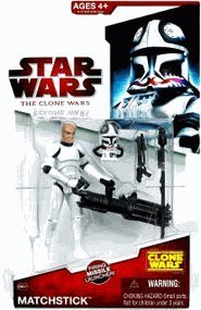 (Star Wars 2009 Clone Wars Animated Action Figure)