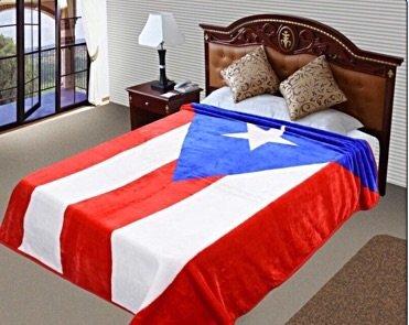PUERTO RICO Flag Blanket,75