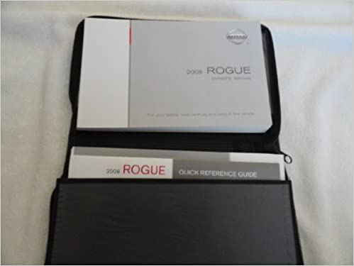 2008 Nissan Rogue Owners Manual Guide Book Amazon Com Books