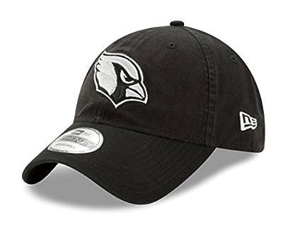 "Arizona Cardinals New Era NFL 9Twenty ""Twill Core Classic"" Adjustable Black Hat by New Era"