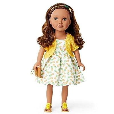 Journey Girls Kyla Australia 2020 Doll (Pineapple Print Dress): Toys & Games