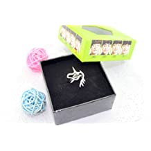 EXO Kpop Ring Titanium Official same style merchandise accessories ring with box (Lay)