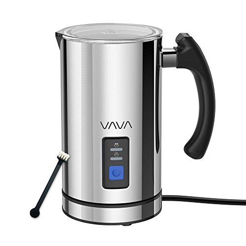 Milk Frother, VAVA Electric Liquid Heater with Hot or Cold M