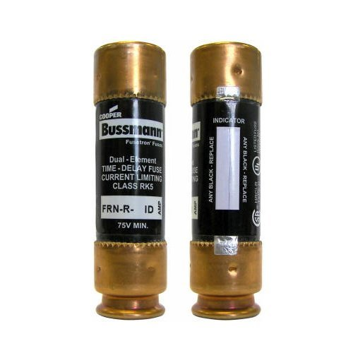 Bussmann FRN-R-40ID 40-Amp EasyID Fusetron Dual Element Time-Delay Current Limiting Fuse Class Rk5 250-volt, 2-Pack