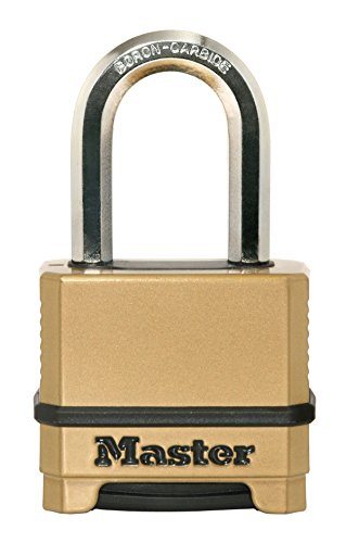 Master Lock Padlock, Magnum Set Your Own Combination Lock, 2 in. Wide, M175XDLF from Master Lock