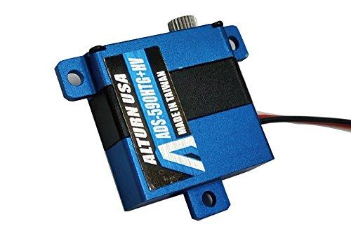 ADS-590HTG+HV / Alloy Case Digital Torque/Speed Slim Wing Servo (Titanium alloy gear)