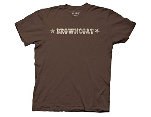Ripple Junction Firefly Browncoat I Aim To Misbehave Adult T-Shirt Medium (Firefly Clothing)