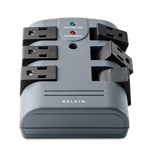 Belkin Pivot Surge Protector with 6ft Cord and Telephone Protection