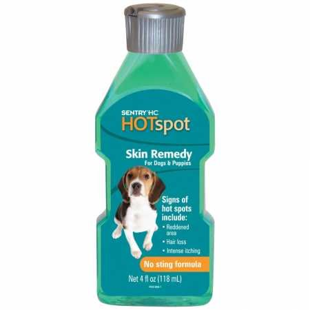 SENTRY Hot Spot Skin Remedy for Dogs, 4 oz (Best Remedy For Spots)