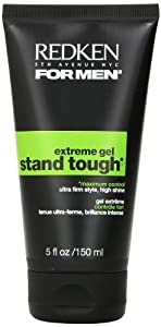 Redken For Men Stand Tough Extreme Hold Gel, 5 oz