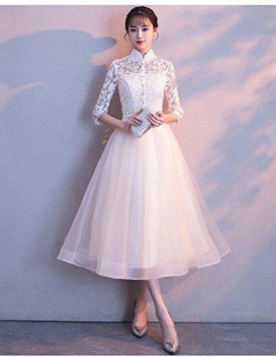 Bankett Kleid Y Abendkleid Elegante Prinzessin Langen Schlanke EIN Brautjungfer L Edle Weiblichen Dünnen wRExq660