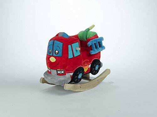 Rockabye Kid's Firefighter Play & Rock Ride-On Rocker, Multi