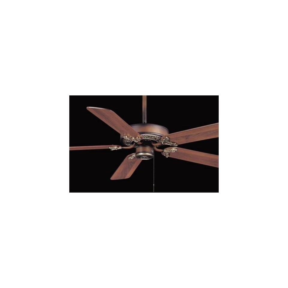 52 Minka Lizette Belcaro Walnut Ceiling Fan