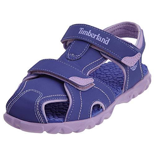 - Timberland TB07892R524 Youth's Splashtown Closed Sandal Purple/Lilac 6 M US