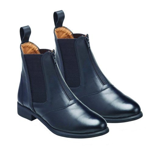 Zip Leather Black x Jodhpur 5 5 Ladies Hartford Front Boots Harry Size Hall w4SgnZSq