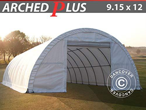 vendite online Dancover Tunnel Agricolo Agricolo Agricolo 9,15x12x4,5m, PVC, Bianco  vendita calda