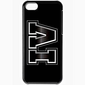 Personalized iPhone 5C Cell phone Case/Cover Skin Gta Grand Theft Auto 4 Number Font Background Black by supermalls