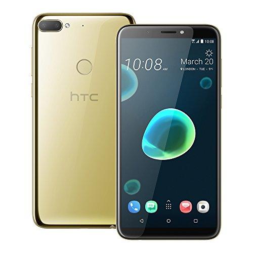 HTC Desire 12 Plus (2Q5W200) 3GB/32GB 6.0-inches Dual SIM Factory Unlocked - International Stock No Warranty (Royal Gold)