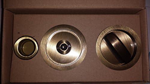Kit para puertas correderas Scrigno latón rascado barnizado ...